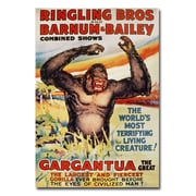 Trademark Fine Art 'Ringling Brothers and Barnum and Bailey' Canvas Art