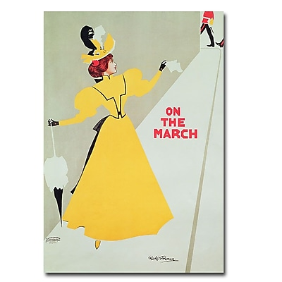 Trademark Fine Art Alick Ritchie 'On the March' Canvas Art