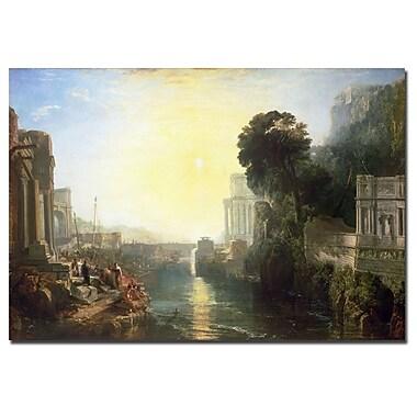 Trademark Fine Art Joseph Turner 'Dido Building Carthage 1815' Canvas Art