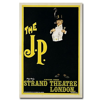 Trademark Fine Art Dudley Hardy 'The J.P. At the Strand Theater 1898' Art