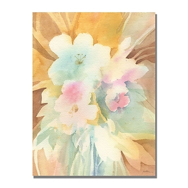 Trademark Fine Art Shelia Golden 'Secret Garden' Canvas Art 24x32 Inches