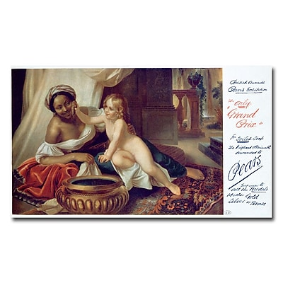 Trademark Fine Art Pears Soap 1898' Canvas Art 24x47 Inches