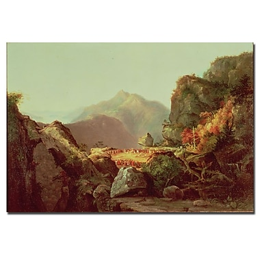 Trademark Fine Art James Cooper 'The Last of the Mohicans' Canvas Art