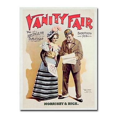 Trademark Fine Art Vanity Fair 1898' Canvas Art