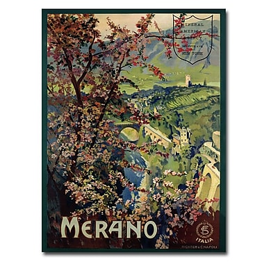 Trademark Fine Art Mario Borgoni 'Merano 1926' Canvas Art