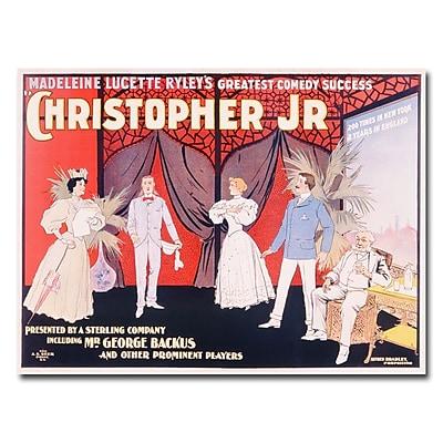 Trademark Fine Art 'Christopher Jr.' Canvas Art
