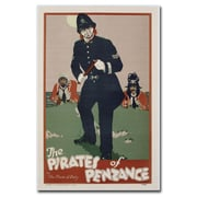 Trademark Fine Art The Pirates of Penzance 1930' Canvas Art