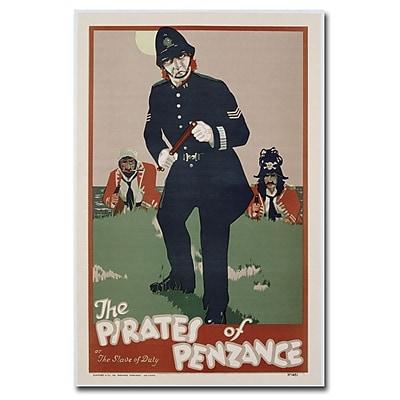Trademark Fine Art The Pirates of Penzance 1930' Canvas Art