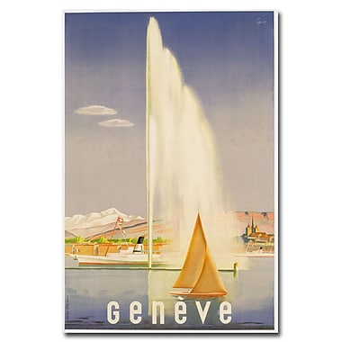 Trademark Fine Art Fehr 'Geneve 1937' Canvas Art
