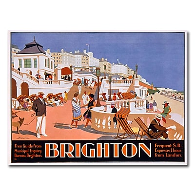 Trademark Fine Art Henry Gawthorn 'Brighton' Canvas Art