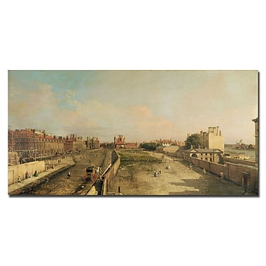 Trademark Fine Art Antonio Canaletto 'Whitehall' Canvas Art