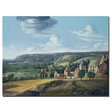 Trademark Fine Art Jan Griffier 'The View of Potrel Manor' Canvas Art