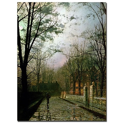 Trademark Fine Art John Atkinson Grimshaw 'After the Shower' Canvas Art 18x24 Inches