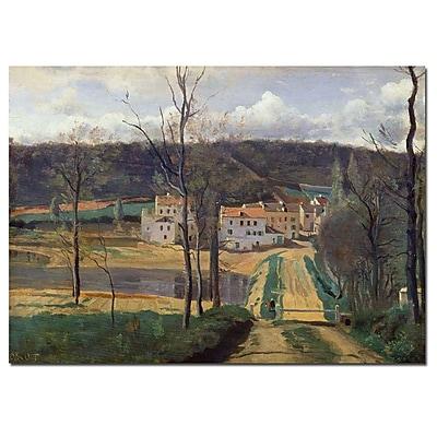 Trademark Fine Art Jean Baptiste Corot 'Ville d'Avray 1820' Canvas Art