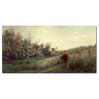 Trademark Fine Art Charles Daubigny 'Spring 1857' Canvas Art