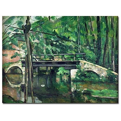 Trademark Fine Art Paul Cezanne 'VIew of the Marsailles Bay 1878' Canvas Art 35x47 Inches