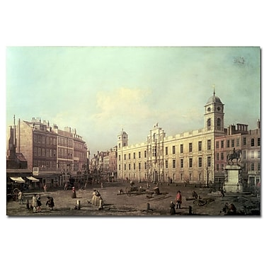 Trademark Fine Art Canaletto 'North Umberland House' Canvas Art