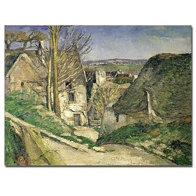 Trademark Fine Art Paul Cezanne 'The House of the Hanged Man' Cnavas Art 18x24 Inches
