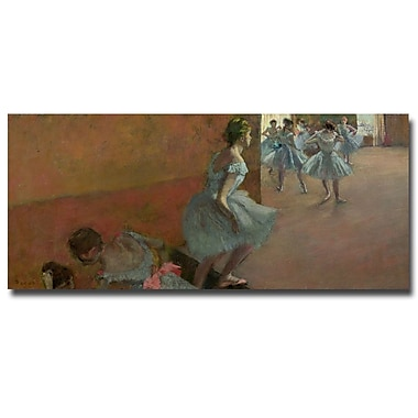 Trademark Fine Art Edgar Degas 'Dancers Ascending a Staircase, 1886' Canvas