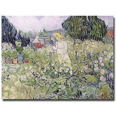 Trademark Fine Art Vincent van Gogh 'Mademoiselle Gachet at Auvers-sur-Oise'