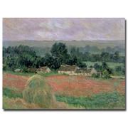 Trademark Fine Art Claude Monet 'Haystack at Giverny 1886' Canvas Art