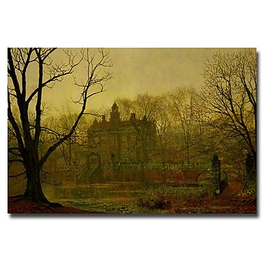 Trademark Fine Art John Atkinson 'In Gloaming 1878' Canvas Art