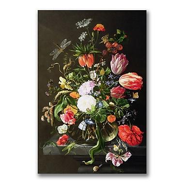 Trademark Fine Art Jan Davidsz. de Heem 'Still Life of Flowers' Canvas Art