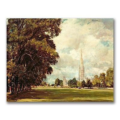 Trademark Fine Art John Constable 'Salisbury Cathedral' Canvas Art