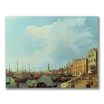 Trademark Fine Art Canatello 'The Riva Degli Schiavoni' Canvas Art