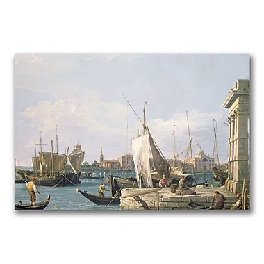 Trademark Fine Art Canatello The Punta Della Dogana' Canvas Art