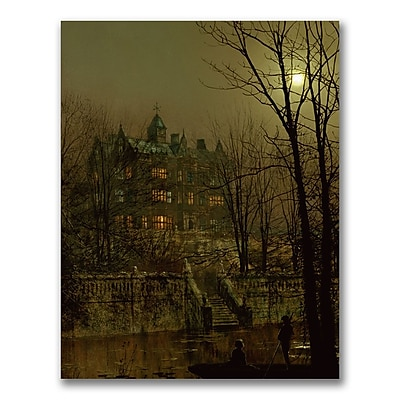 Trademark Fine Art John Grimshaw 'Knostrop Old Hall Leeds' Canvas Art
