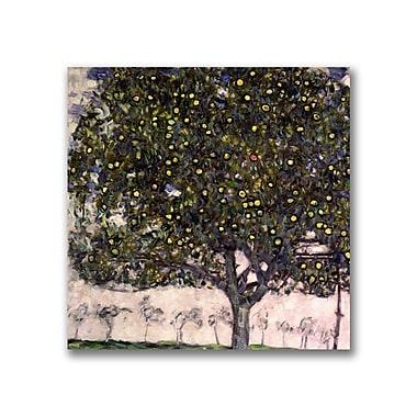 Trademark Fine Art Gustav Klimt 'The Apple Tree' Canvas Art