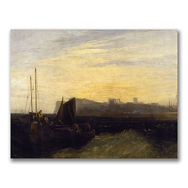 Trademark Fine Art Joseph Turner 'Margate 1808' Canvas Art