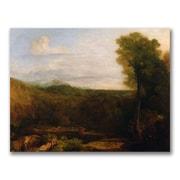 Trademark Fine Art Joseph Turner 'Echo and Narcissus' Canvas Art
