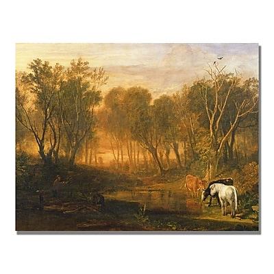 Trademark Fine Art Joseph Turner 'The Forest of Berer' Canvas Art
