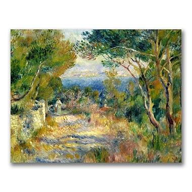 Trademark Fine Art Pierre Renoir 'L'Estaque 1882' Canvas Art