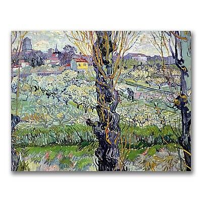 Trademark Fine Art Vincent Van Gogh 'View of Arles' Canvas Art
