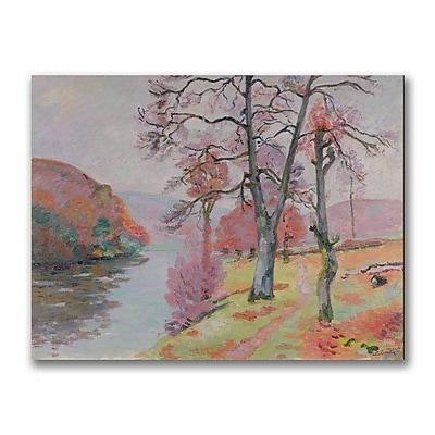 Trademark Fine Art Jean Baptiste Guillamin 'Crozant Brittany 1912' Canvas