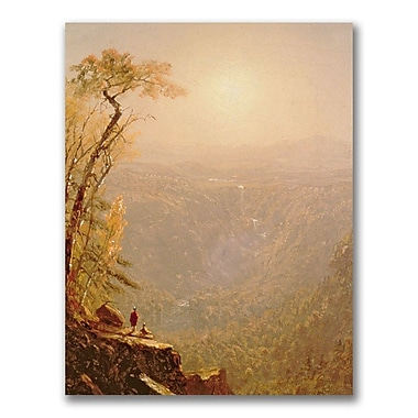 Trademark Fine Art Sanford Gifford 'Kauterskill Clove in the Catskills' Canvas