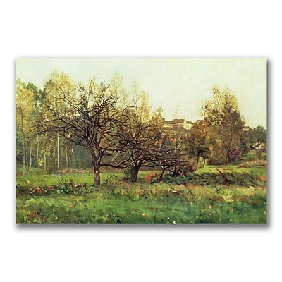Trademark Fine Art Charles Daubigny 'Autumn Landscape' Canvas Art