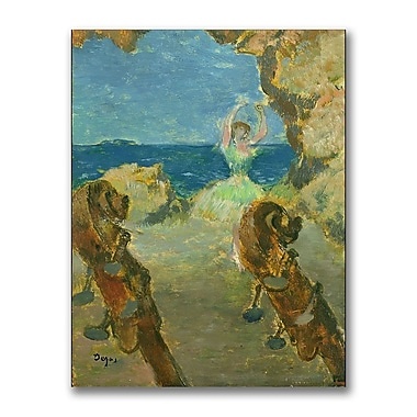 Trademark Fine Art Edgar Degas 'The Ballet Dancer 1891' Canvas Art