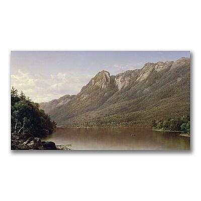 Trademark Fine Art David Johnson 'Eagle Cliff' Canvas Art 18x32 Inches
