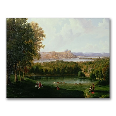 Trademark Fine Art Robert Havel 'View from the Tarrytown' Canvas Art 35x47 Inches