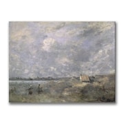 Trademark Fine Art Jean Baptiste Corot 'Stormy Weather' Canvas