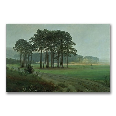 Trademark Fine Art Caspar Friedrich 'Midday 1820-25' Canvas Art