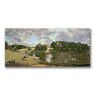 Trademark Fine Art John Constable 'Wivenhoe Park Essex' Canvas Art 24x47 Inches