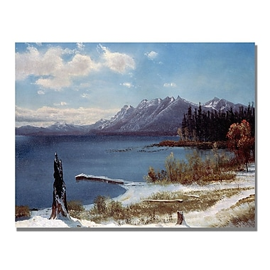 Trademark Fine Art Albert Biersdant 'Lake Tahoe' Canvas Art