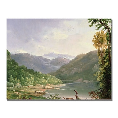 Trademark Fine Art Thomas Whittredge 'Kentucky River' Canvas