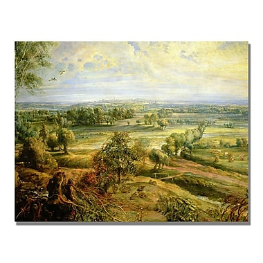 Trademark Fine Art Peter Rubens 'An Autumn Landscape II' Canvas Art 35x47 Inches