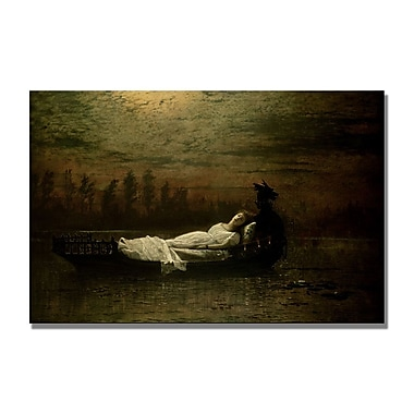 Trademark Fine Art John Grimshaw 'The Lady of Shalott' Canvas Art